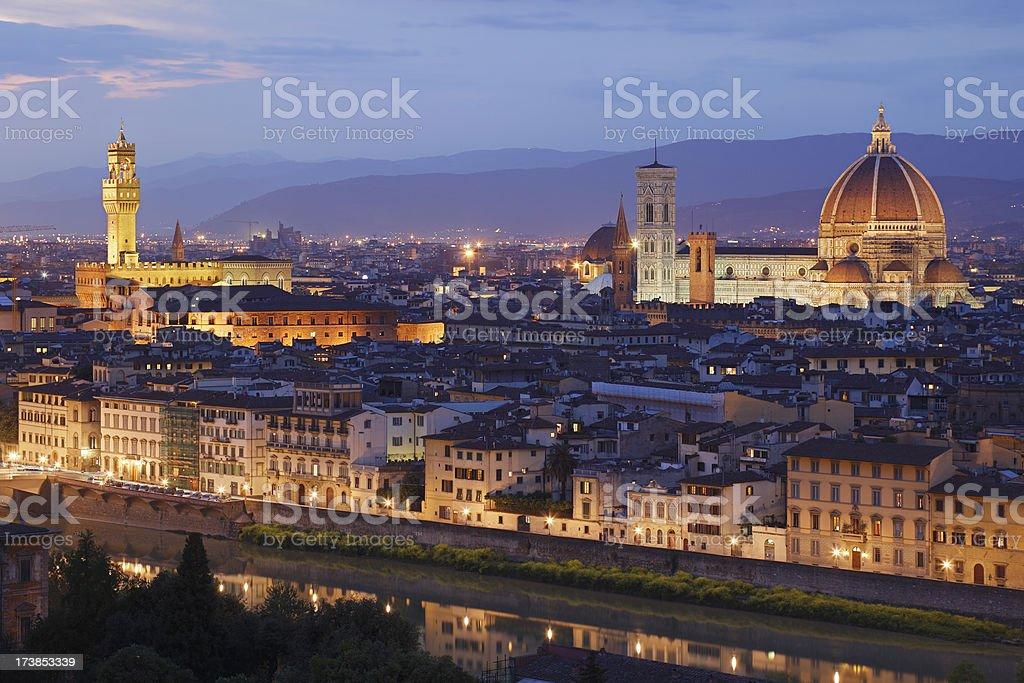 Florence Skyline royalty-free stock photo