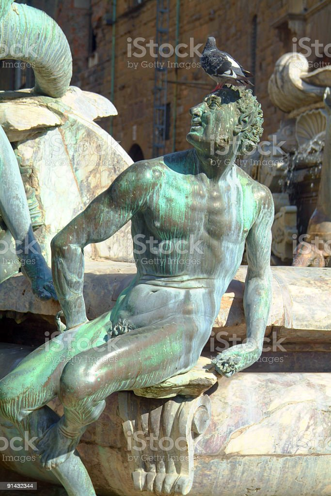 Florence statue royalty-free stock photo