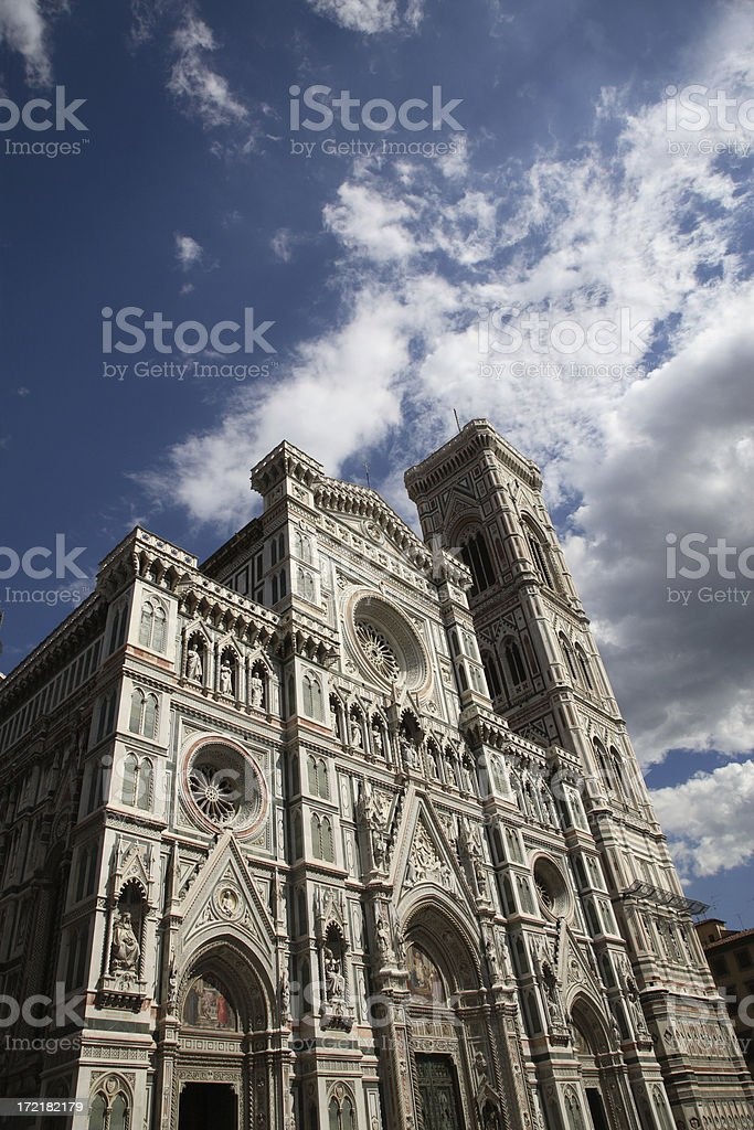 Florence: The Duomo royalty-free stock photo