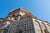 Florence town and the Cathedral Santa Maria del Fiore Dome