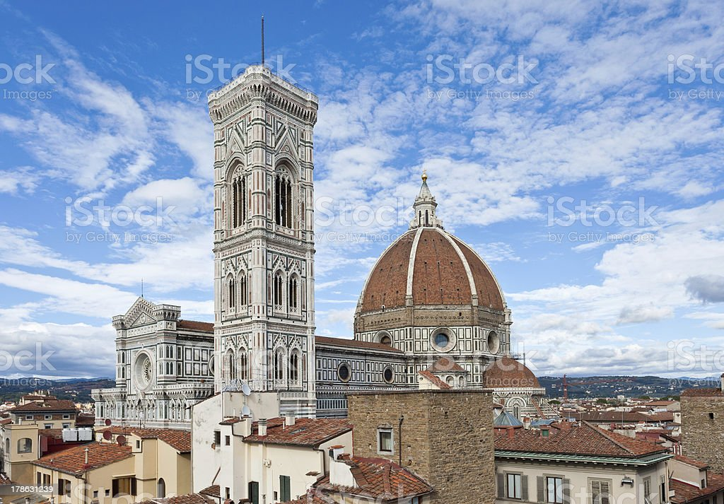 Florence's cathedral stock photo