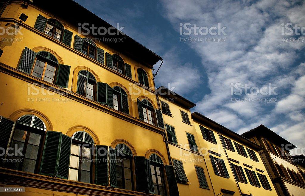 florences facades stock photo