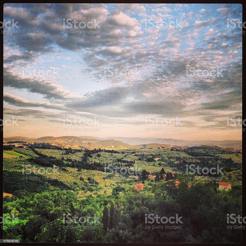 Florence's hills - Mobilestock photography stock photo