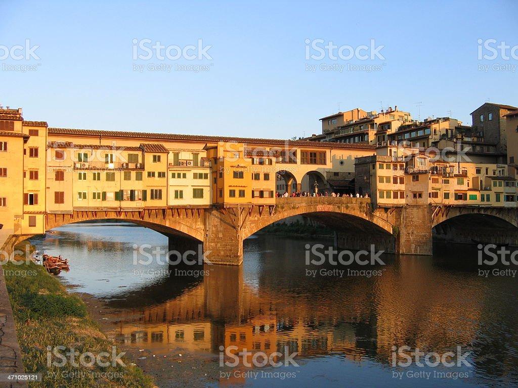 Florence?s sunset stock photo