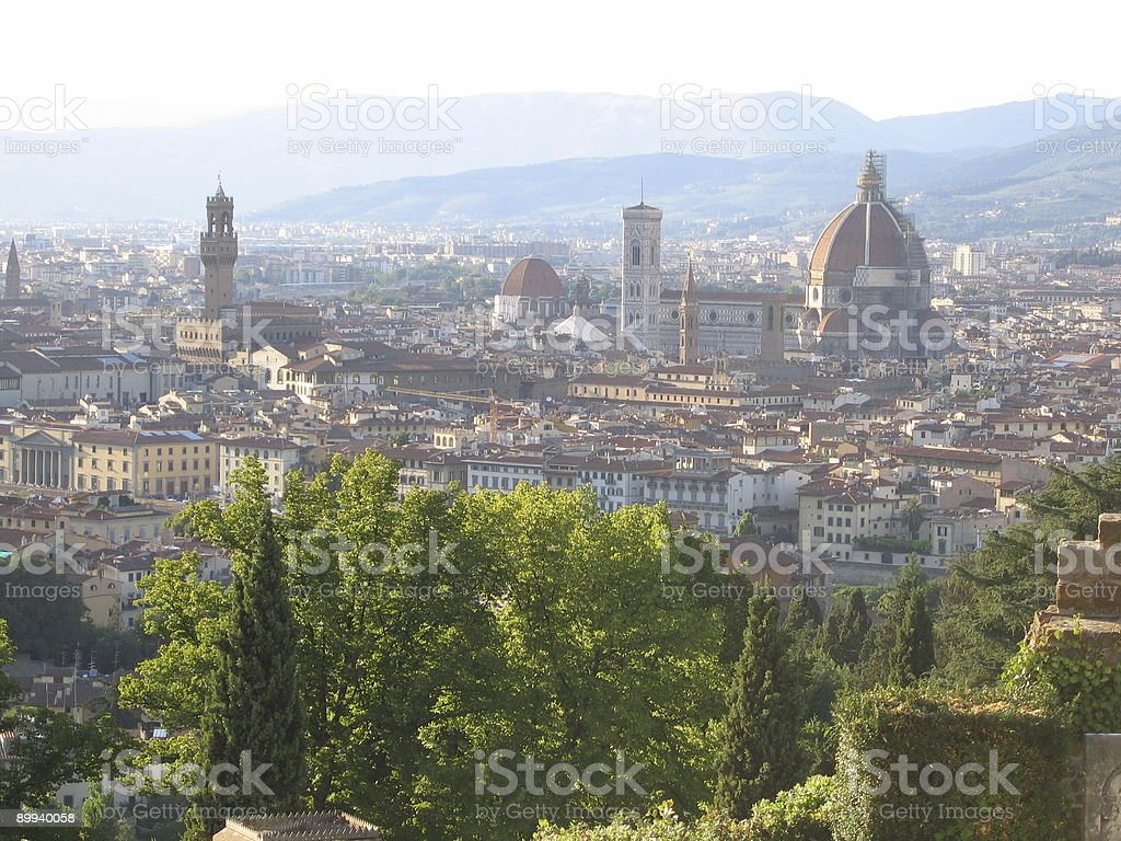 Florence´s view stock photo
