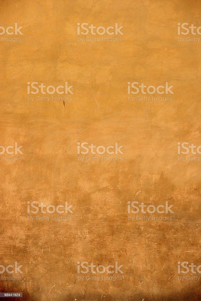 Florentine orange wall royalty-free stock photo