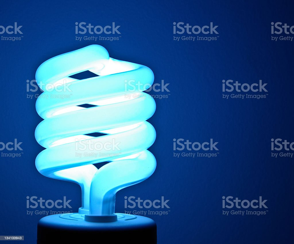 Florescent bulb royalty-free stock photo