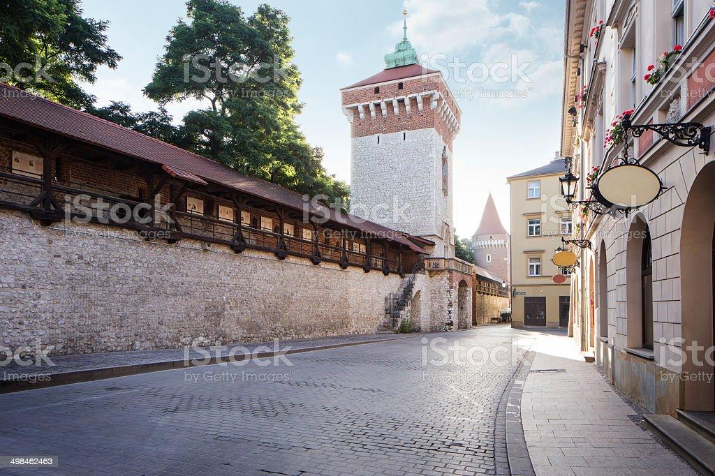 Florian Gate stock photo