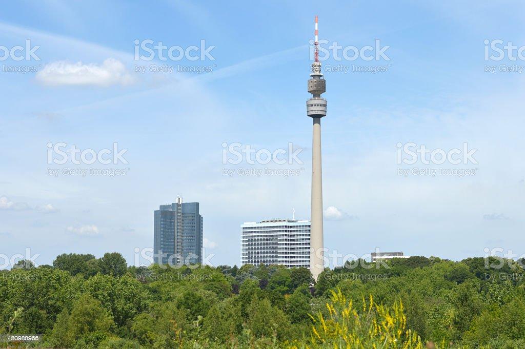 Florian Tower stock photo