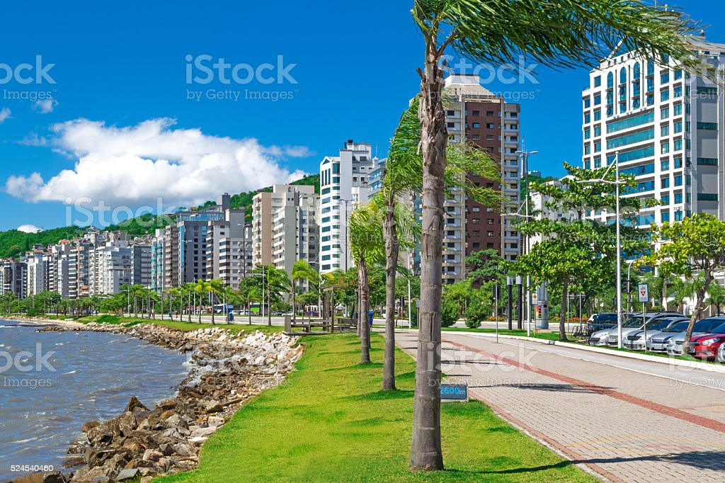 Florianopolis, capital of Santa Catarina State stock photo