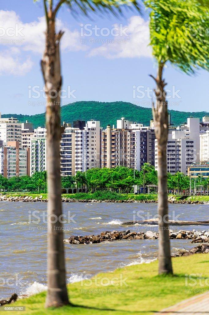 Florianopolis, capital of Santa Catarina State stock photo