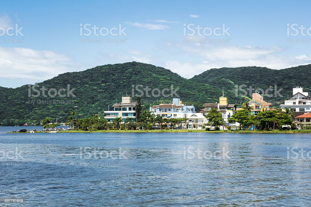 Florianopolis Houses stock photo