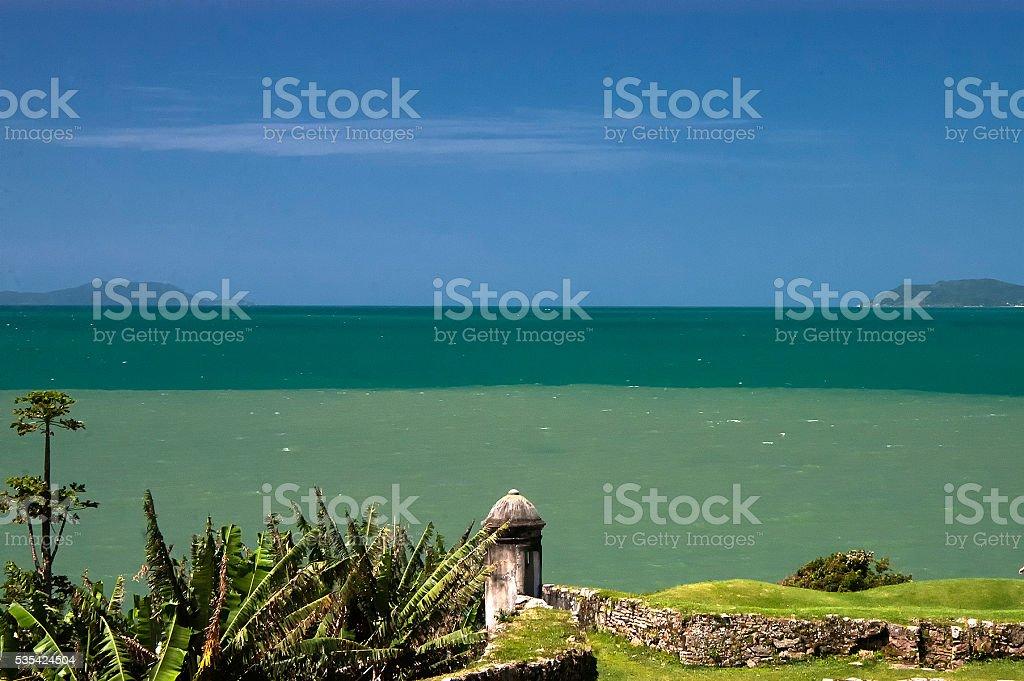 Florianopolis Island stock photo