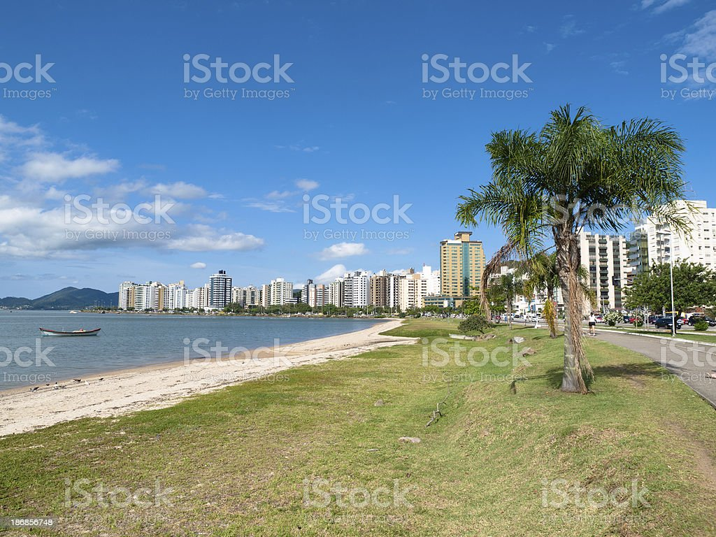 Florianopolis Waterfront, Brazil stock photo