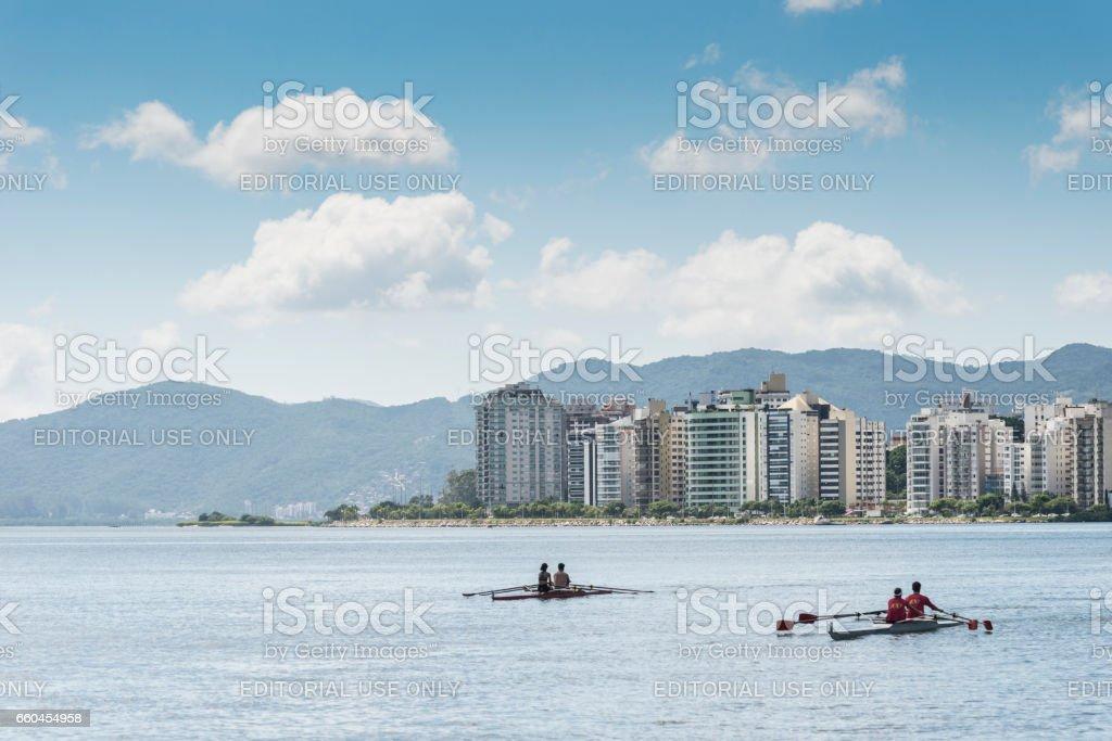 Florianópolis - Brasil stock photo