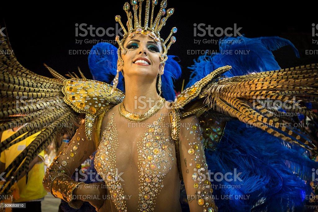 Florianópolis Carnaval - Brazil 2016 stock photo