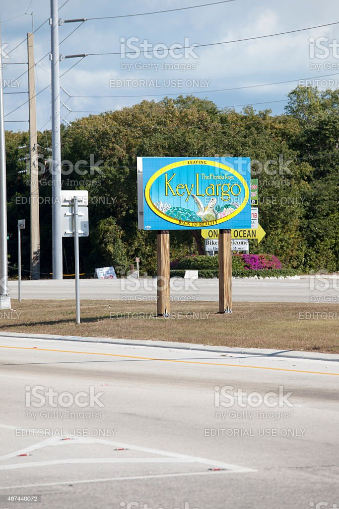 Florida and the Key West Vacation Travel Destination stock photo