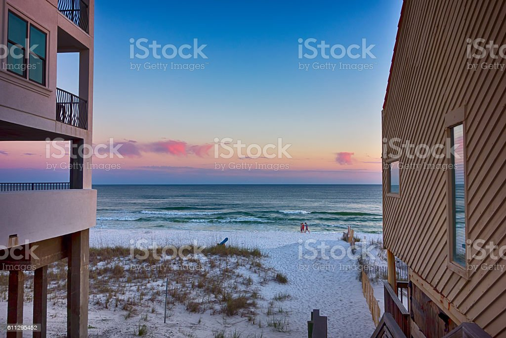florida beach parks and recreation stock photo