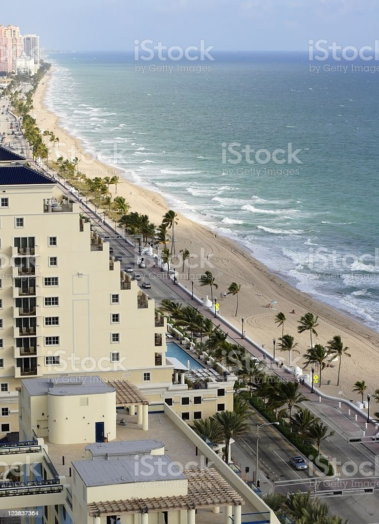 Florida Beach royalty-free stock photo