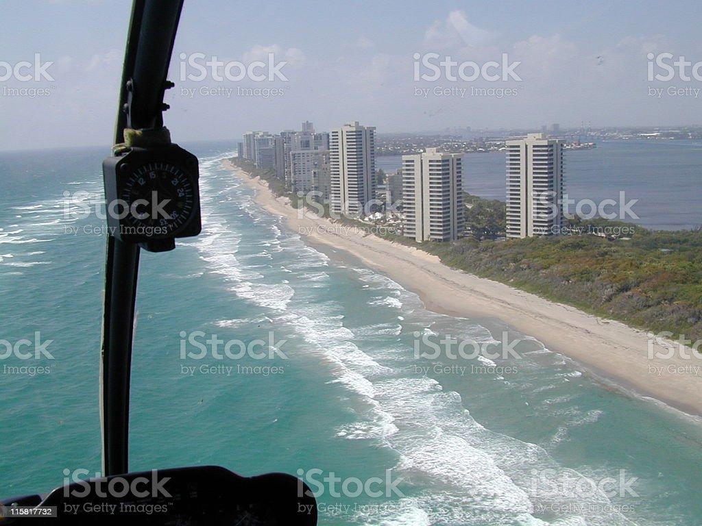Florida Coastline royalty-free stock photo