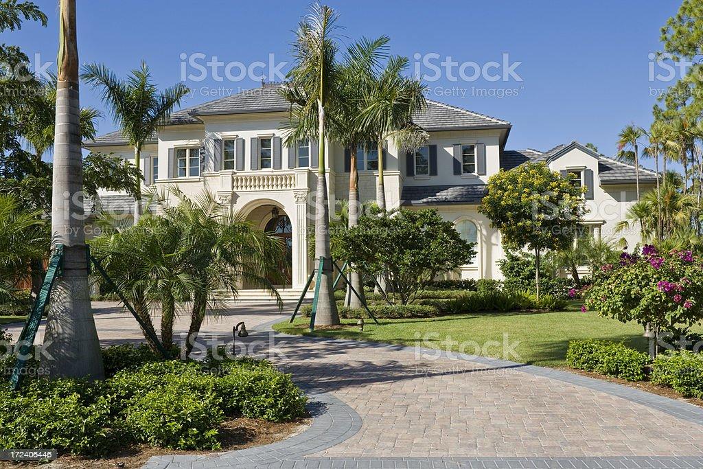 Florida Estate stock photo