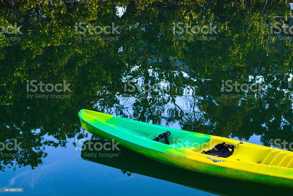 Kayak en Floride photo libre de droits