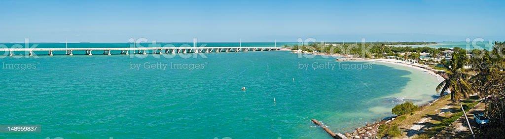 Florida Keys Bahia Honda State Park stock photo