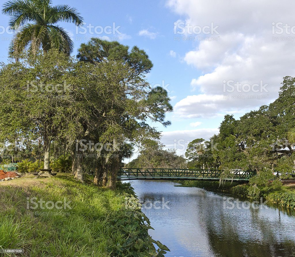 Florida Landscape stock photo