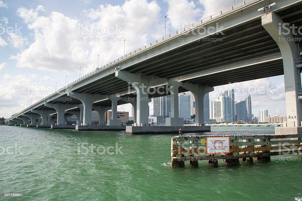 USA - Florida - Miami, Downtown stock photo