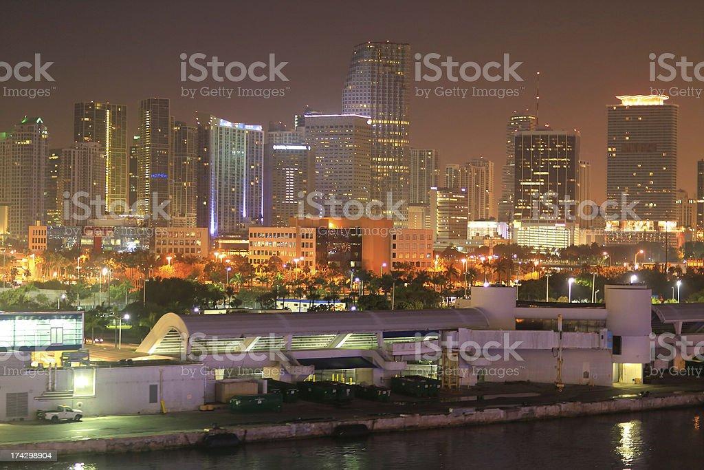 Florida: Miami royalty-free stock photo