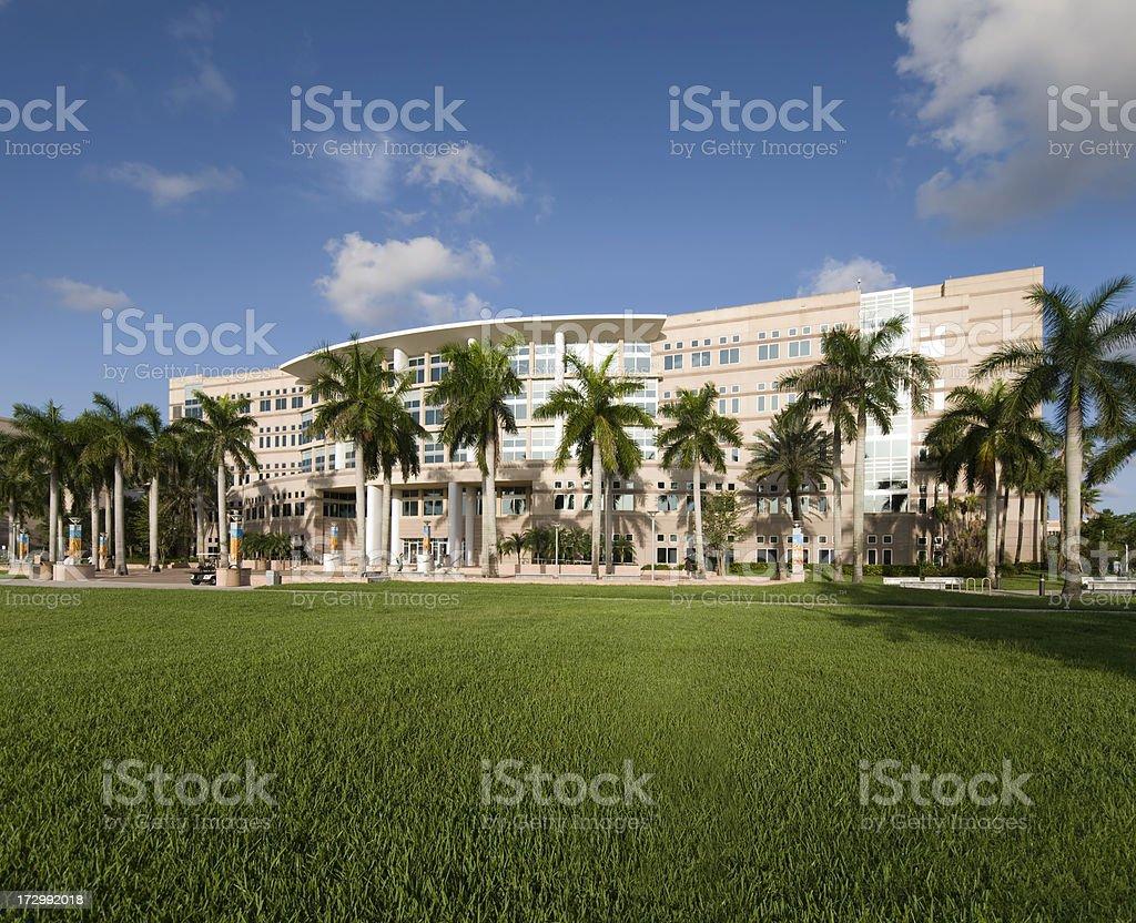 Florida Office Building stock photo