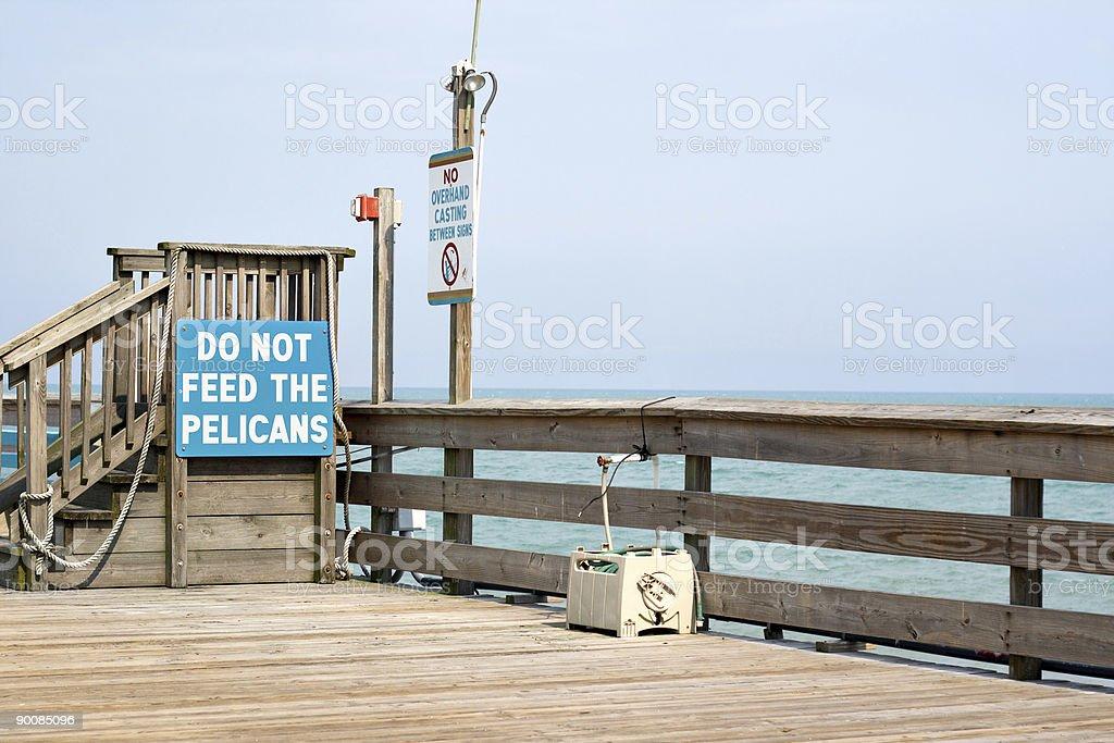 Florida Pier royalty-free stock photo
