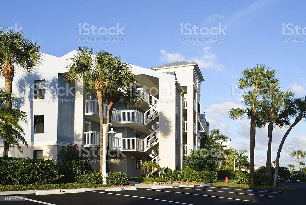 Florida planned community royalty-free stock photo