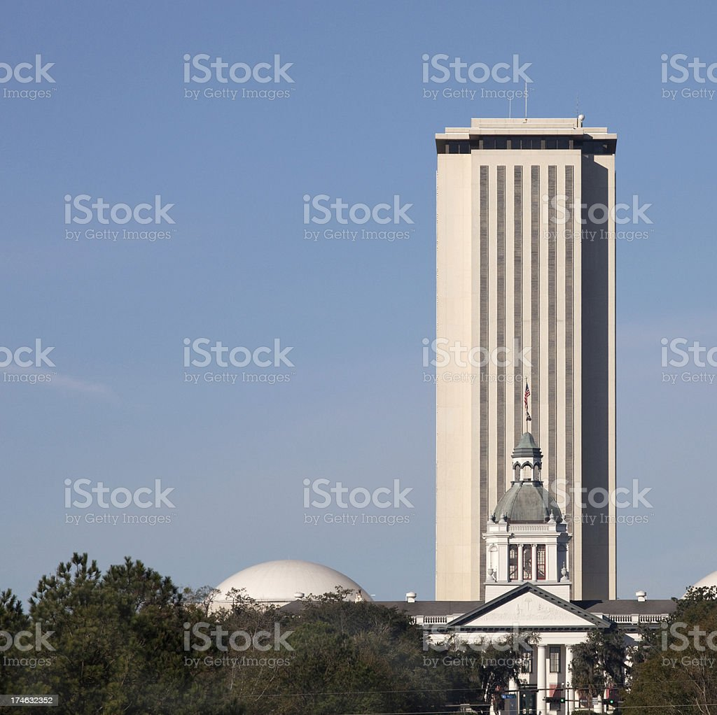 Florida State Capital Buildings royalty-free stock photo