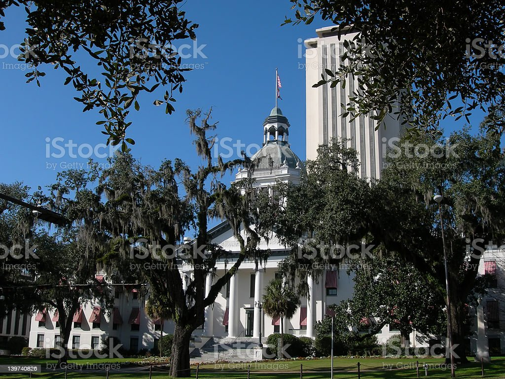Florida State Capitol Buildings royalty-free stock photo