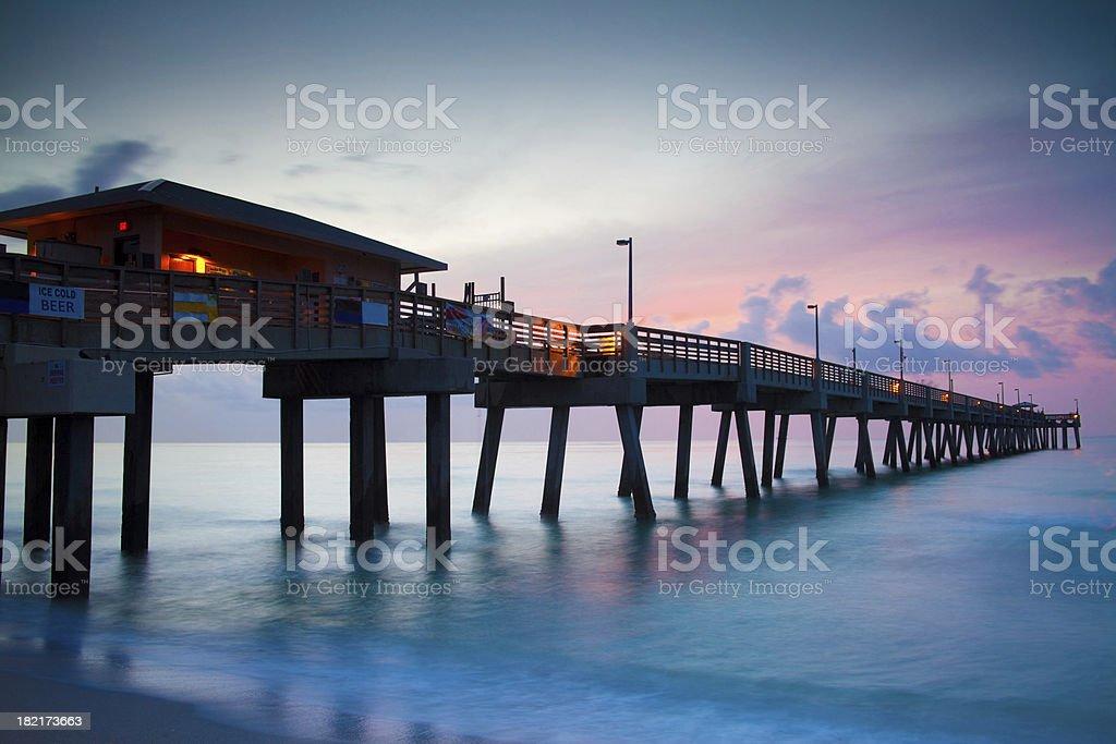 Florida Sunrise royalty-free stock photo