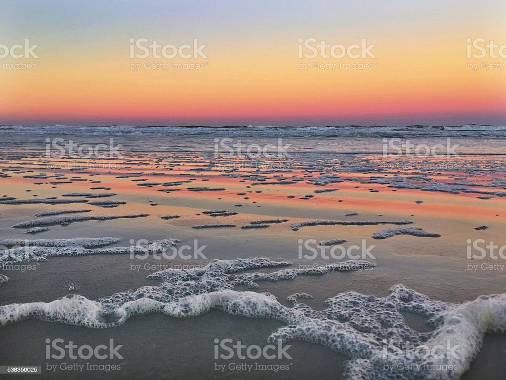 Florida Sunset stock photo