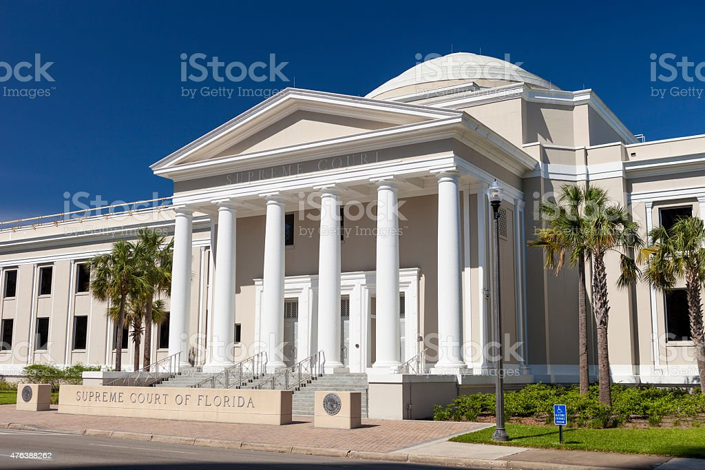 Florida Supreme Court - Tallahassee, Florida stock photo