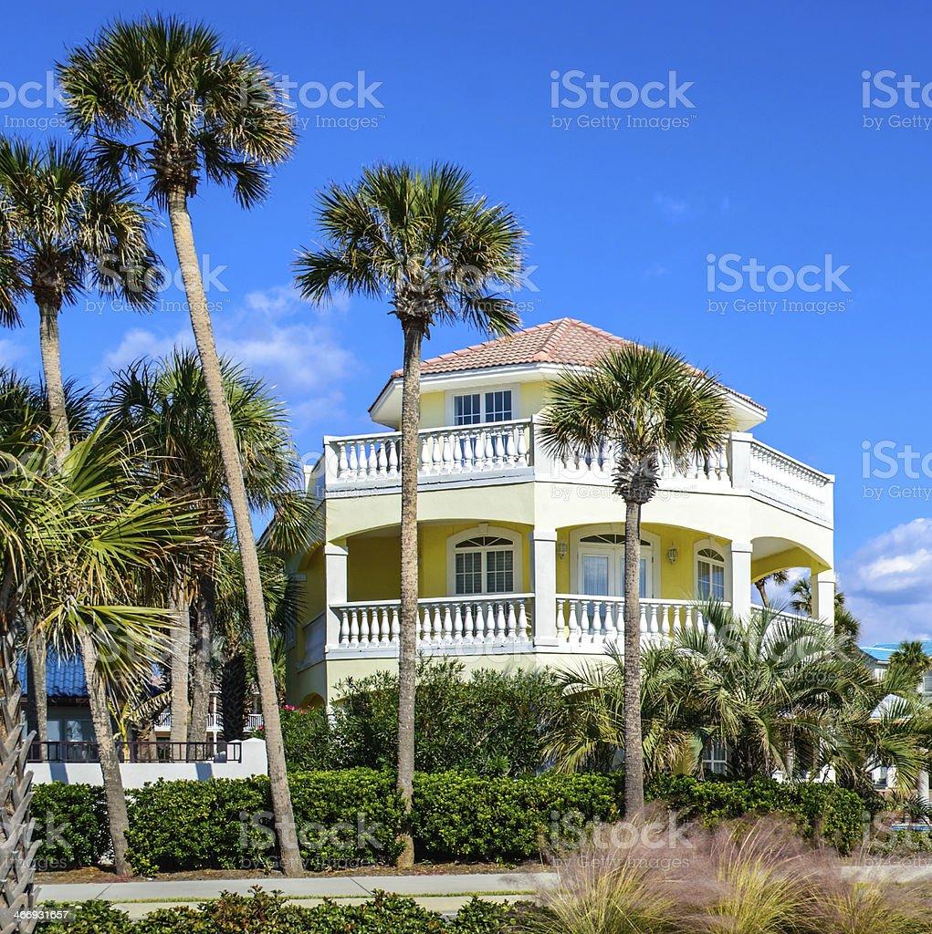 Florida Vacation Rental Property royalty-free stock photo