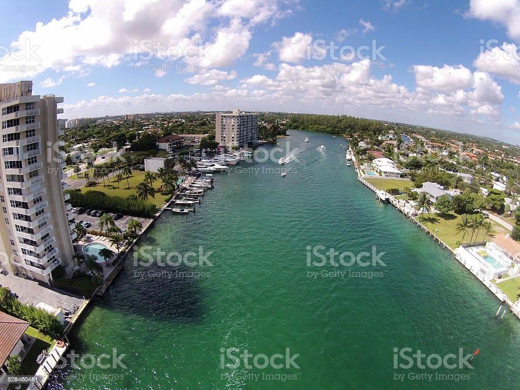 Florida waterways stock photo
