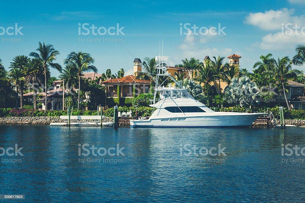 Florida's Luxury Life stock photo