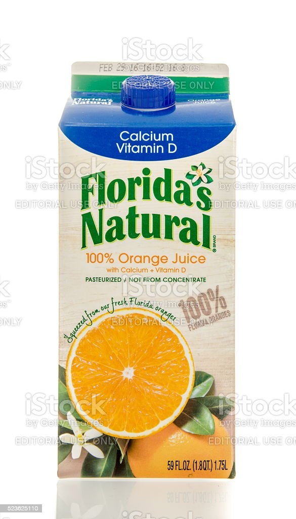 Floridas Natural Orange  Juice stock photo
