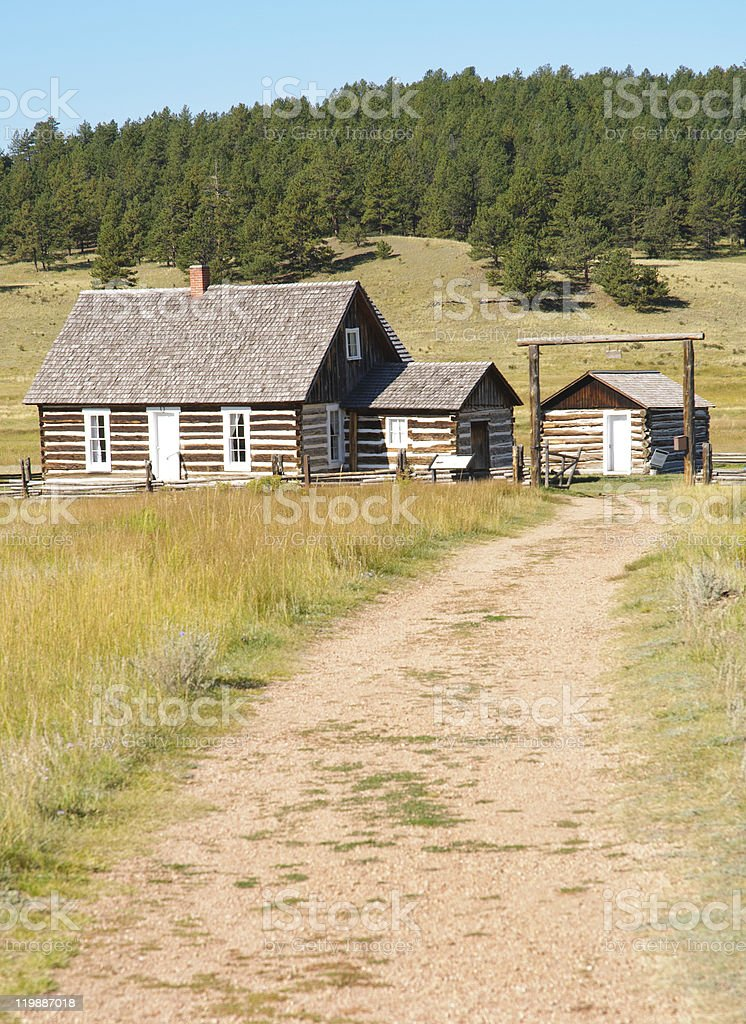 Florissant Fossil Beds National Monument stock photo