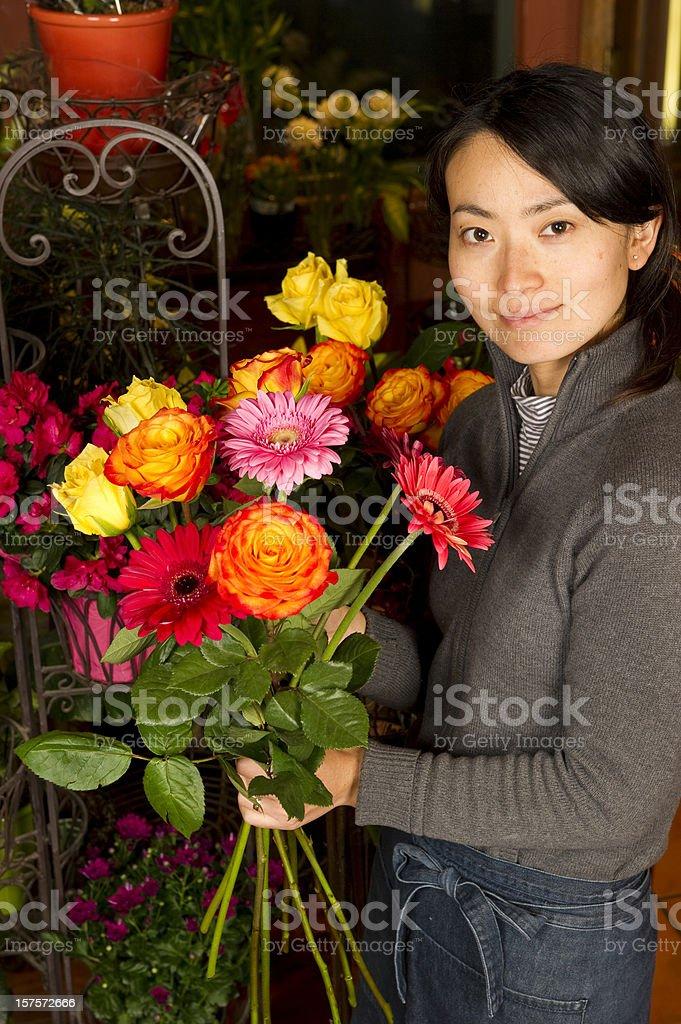 Florist royalty-free stock photo