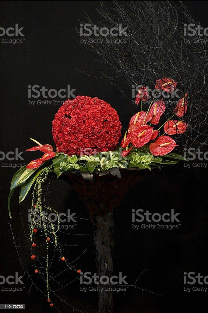 Floristry arrangement royalty-free stock photo