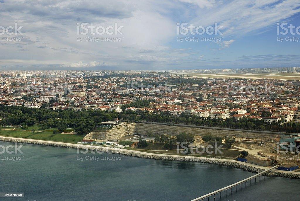 Florya Istanbul stock photo