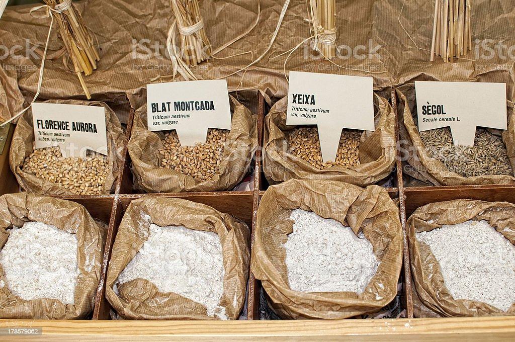 Flour ecological royalty-free stock photo