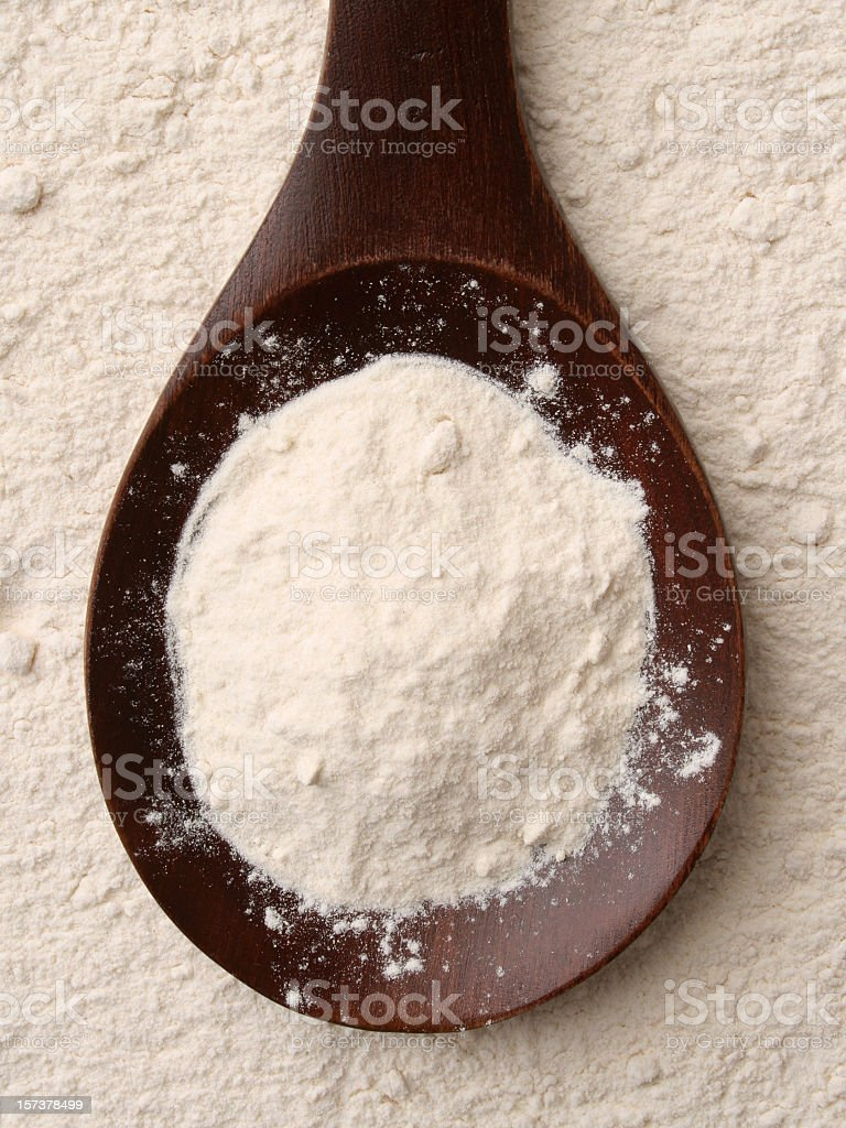 Flour royalty-free stock photo