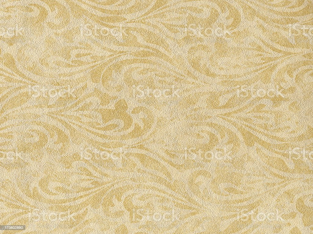 Flourished Wallpaper Background Texture royalty-free stock photo