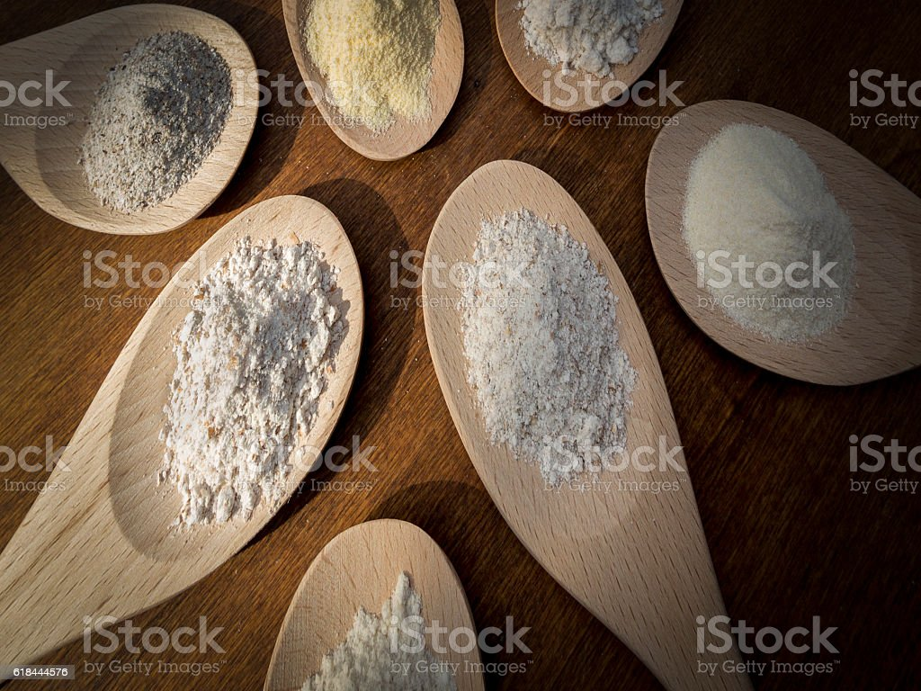Flours stock photo